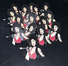 Amy Winehouse Enamel Pin Famous Rehab Valerie R&B singer mark ronson