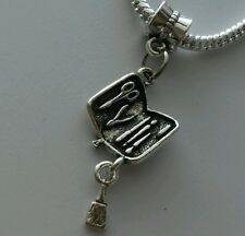 Dentist Dental Surgical Instruments Dangle Bead For European Charm Bracelet