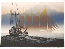 Elton Bennett Notecards Steelhead Weather 5 cards /& envelopes