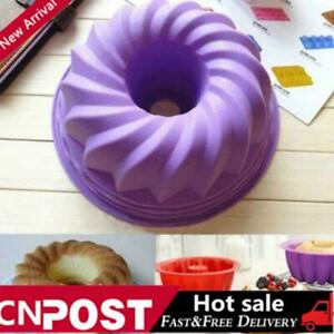 2pcs Shaped Cake Pan Bread Bakeware Silicone Mold Baking Tools 1Y5T