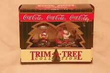 Coca Cola Trim A Tree Collection Holiday Ornaments in Original Boxes