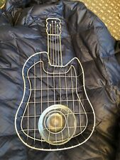 SERVE WARE LG CHIP 'N DIP TRAY  PARTY TRAY Guitar-Shaped Cute!