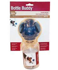 NEW Petlinks Water Bottle Buddy Dog Puppy Rubber Toy Crunchy Holds 4 Bottles