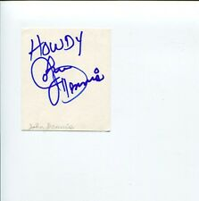 John Dennis Here to Eternity Soylent Green Young Frankenstein Signed Autograph