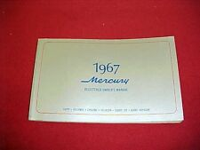 1967 MERCURY CYCLONE COMET 202 VOYAGER ORIGINAL BLANK OWNERS MANUAL SERVICE 67