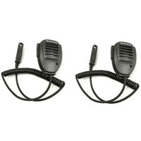 2X Waterproof Speaker Microphone For BaoFeng UV-9R A58 GT-3WP R760 Walkie Talkie