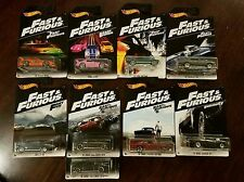 Hot Wheels 2017 Fast & Furious Walmart Exclusive Complete Set w/ERROR (Lot of 9)