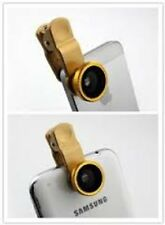 Universal 3-in-1 Clip-On Wide Angle + Fisheye + Macro Lens for iPhone/Cell etc.
