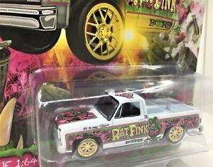 Autoworld Rat Fink Super Toy Con Exclusive *Chevy Silverado* 1 of 4992