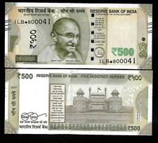 "Rs.500/- Urjit Patel  Star Note ""E"" Inset  Prefix 1LB  2017 - UNC  LATEST"