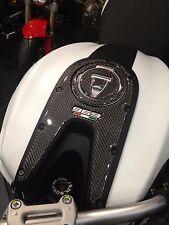 Ducati Monster authentic Carbon fiber TANK DASH COVER PANEL Trim Sticker pad Pad