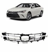 For 2015 2017 Toyota Camry Front Bumper Hood Grille SE XSE Grill Replacement