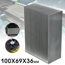 100x69x36mm Heatsink Aluminum Heat Sink For High Power LED Transistor IC Module