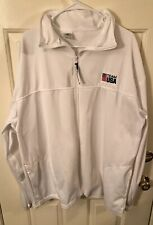 Official Team USA 3XL White Full Zip Track Jacket