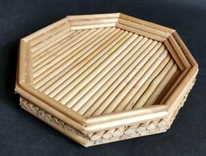 Beautiful Handmade Bamboo Planter Stand
