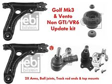 FEBI/MEYLE SUSPENSION UPDATE KIT GOLF MK3 VENTO NON GTI VR6 (2X ALL ITEMS)
