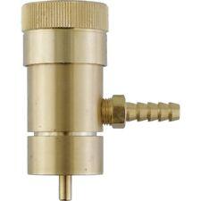 Oxygen Regulator w/ Barb For Disposable Tanks Oxygenate Wort Yeast Fermentation