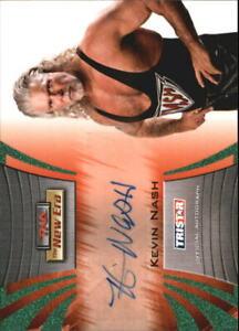 2010 TriStar TNA New Era Autographs Green #A12 Kevin Nash /25