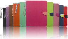 Folio Wallet ID Flip Stand PU Leather Case Cover For iPad 2 3 4
