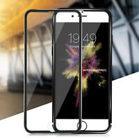 For Apple iPhone 8 Tempered Glass Screen Protector - METAL NEW!!