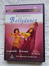 DISCOVER BELLYDANCE- MYSTIC DANCE - DVD, R-4, VERY GOOD, FREE POST IN AUSTRALIA