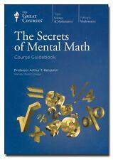 The Secrets of Mental Math by Benjamin (Book/DVD) 2011  W1