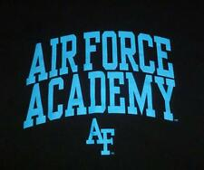 AIR FORCE ACADEMY ADULT SMALL JANSPORT T-SHIRT BLACK AF MILITARY VERY NICE