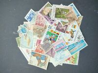Worldwide stamp accumulation, kiloware ,100 different used stamps,46552