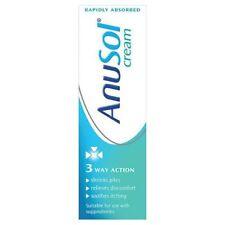 Anusol Haemorrhoids (Piles) Relief Treatment Cream