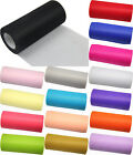 "TULLE Roll Spool 6""x25Y Tutu Wedding Gift Bow Craft Bridal Decorating 15 color"