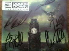 3 Doors Down - Time of My Life cd signed autographed by  band Todd Harrell RARE
