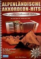 Akkordeon Noten : Alpenländische Akkordeon-Hits mit CD  leichte Mittelstufe - ms