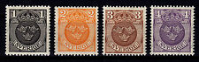 SWEDEN 1911 - SC# 95 - 98 MINT NEVER HINGED