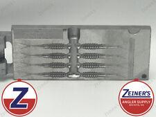 96025 New Do-It Crappie Fluke Essential Series Mold 8 cavity 2 1/2 inch bait