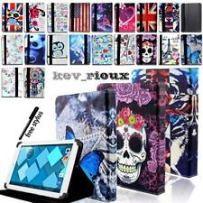 Leather Stand Folio Cover Case For Various Alcatel 10 inch Tablet