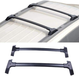 2 Pc Roof Rack Cross Bar Cargo Carrier Fit For Chevrolet Traverse 3.6L 2009-2017