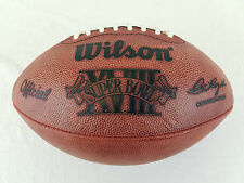 Super Bowl 18 XVIII Official Wilson NFL On Field Game Football Raiders vs Skins