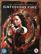 Jennifer Lawrence THE HUNGER GAMES: CATCHING A FIRE ~ 2013 UK DVD w/ Slipcover
