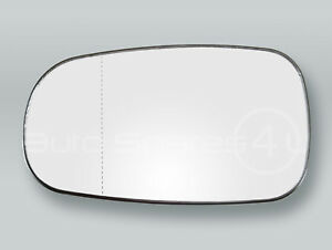 Heated Door Mirror Glass and Backing Plate LEFT fits 2003-2011 SAAB 9-3