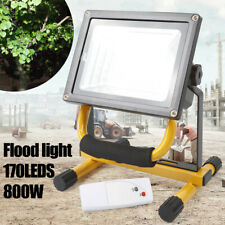 New listing 800W 170 Leds Portable Floodlight Usb Rechargeable Outdoor Work Flash Lamp+Rc
