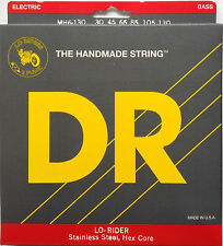 DR MH6-130 Lo-Rider BASS Guitar Strings Six-String 6-string set; gauges 30-130