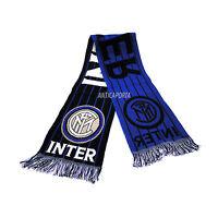Bufanda Inter 2 Original Milán Jacquard FC Internacional Estadio Envío