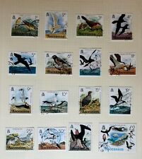 Ascension fine used set of 1976 bird definitives