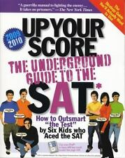 Up Your Score : The Underground Guide to the SAT, 2009-2010 Edition,Berge
