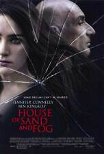 HOUSE OF SAND AND FOG Movie POSTER 27x40 Jennifer Connelly Ben Kingsley Ron