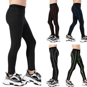 Children Sports Trousers Tights Elastic Fitness Pants Football Running Quick Dry