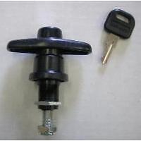 T-Handle, Locking, Cap/Lid/Door,  Small, Threaded Barrel (#T501L)