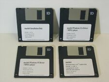 Disquettes 3.5 pouces installation driver carte MACH64 Win Windows NT 3.1x 95