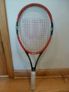 "Wilson ProStaff RF97 Roger Federed Autographed 4 3/8"" Grip 12 oz Tennis Racquet"