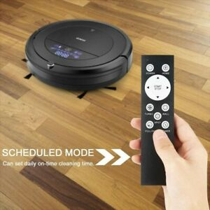 Automatic Robot Vacuum Cleaner, Strong Suction Remote Control Self-Charging